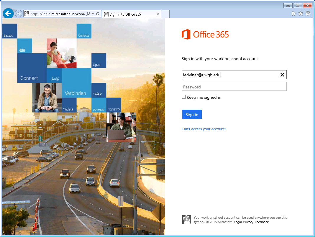 Office 365 Login Portal