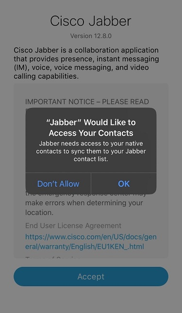 Cisco Jabber 6